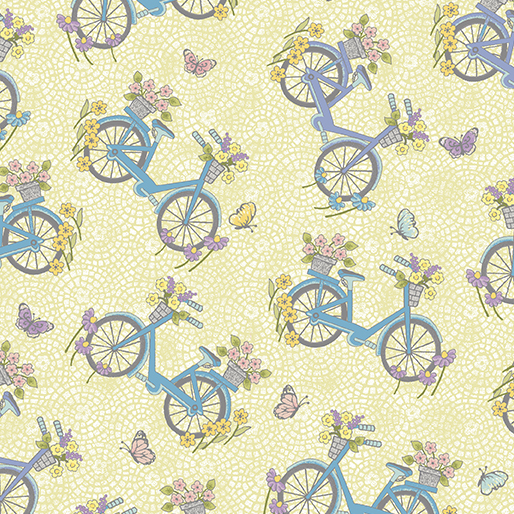 Bicycles N Butterflies Lemon