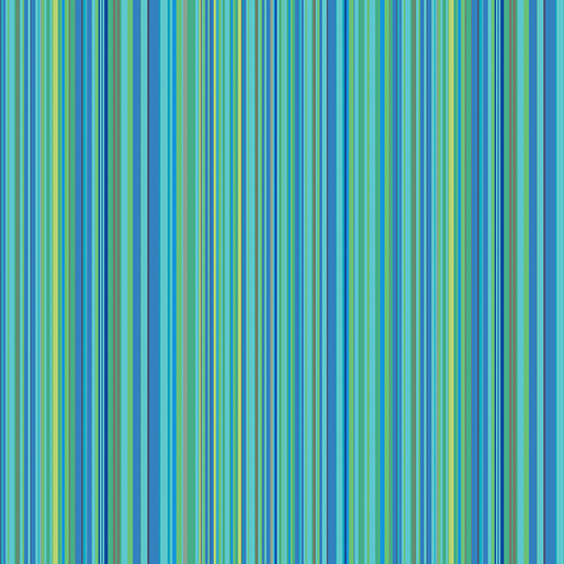 CONTEMPO WARP & WEFT Multi Stripe Aqua 6605Y-24
