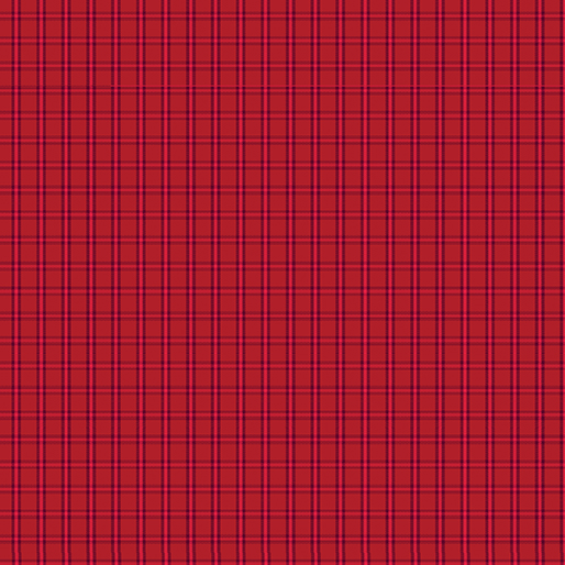 CONT- Warp & Weft Red Tiny Plaid