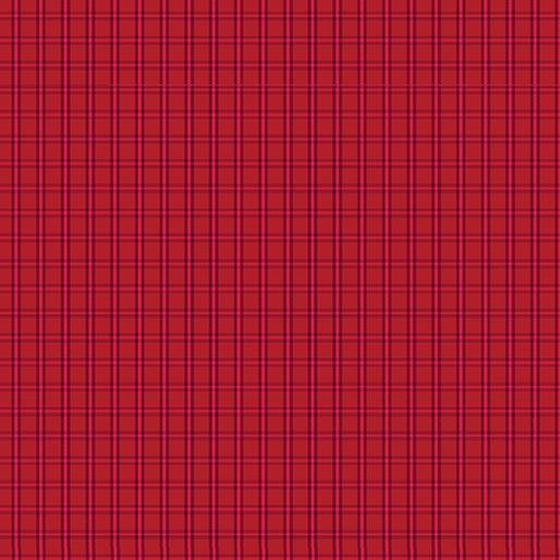 CONTEMPO WARP & WEFT Tiny Plaid Red 6608Y-10