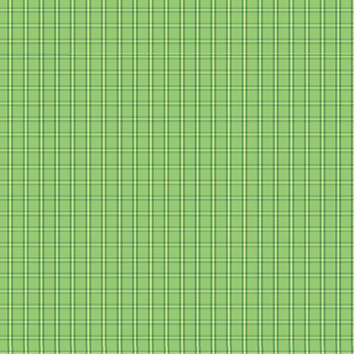 CONT- Warp & Weft Green Tiny Plaid