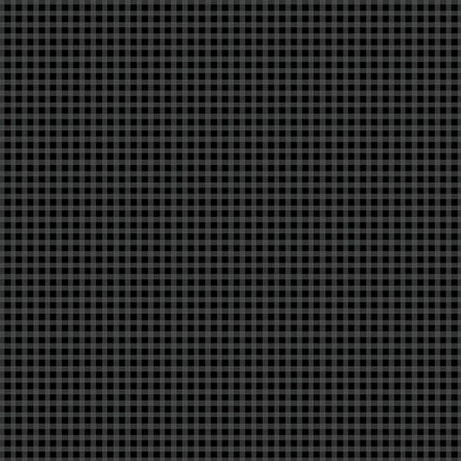 CONTEMPO WARP & WEFT Mini Gingham Black 6609Y-12