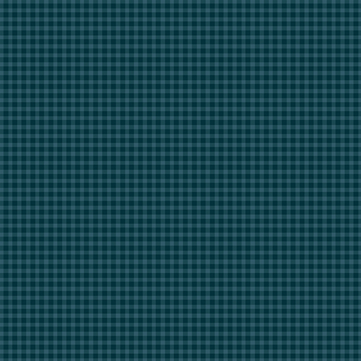 CONTEMPO WARP & WEFT Mini Gingham Teal/Midnight 6609Y-59
