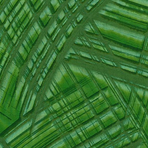 Crosshatch Palm Green Batik 6623-42