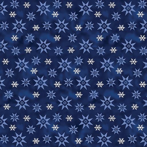 Winter Snowflake - Dark Blue