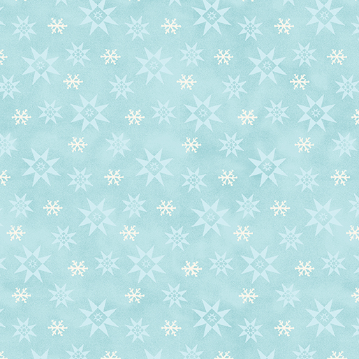 WinterSnowflake Med.Turquoise