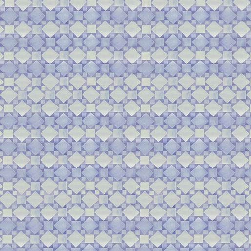 Textured Geo Stripe in Purple and Pale Aqua:  White Woodland by Jim Shore for Benartex