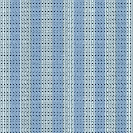 Awning Stripe - Blue