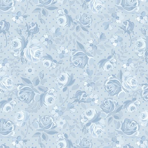 Blue Ribbon Rose - Sky Blue