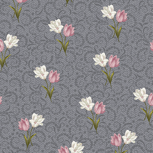 Tulip Twirl Dark Grey