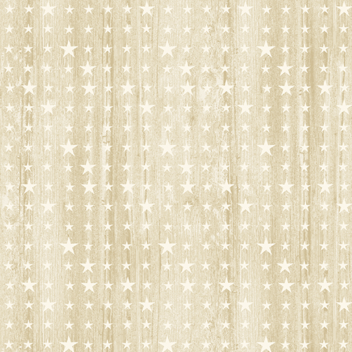 HOME OF THE FREE WOODEN STARS BEIGE 06765-76