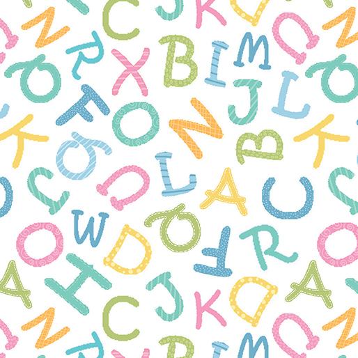 Alphabet Toss White - My Little Sunshine 2