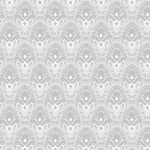 Magnificent Blooms Nouveau Light Grey - 6787-08