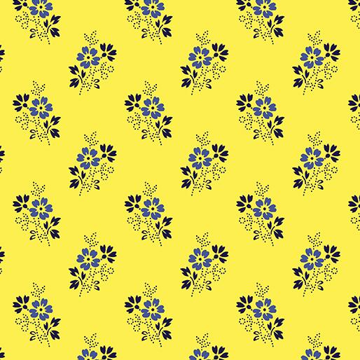 Ditsy Yellow