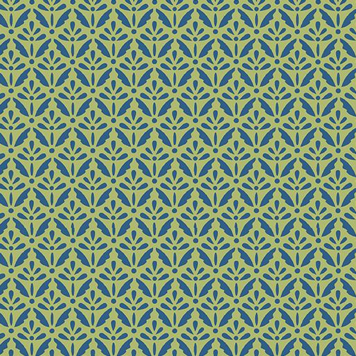Home Grown Floret Blue/Green