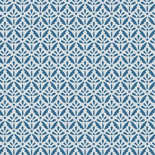 Home Grown Floret Blue