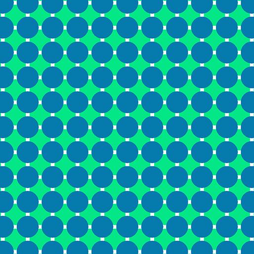 06815 82 Caribbean Circle Grid Gridwork Benartex