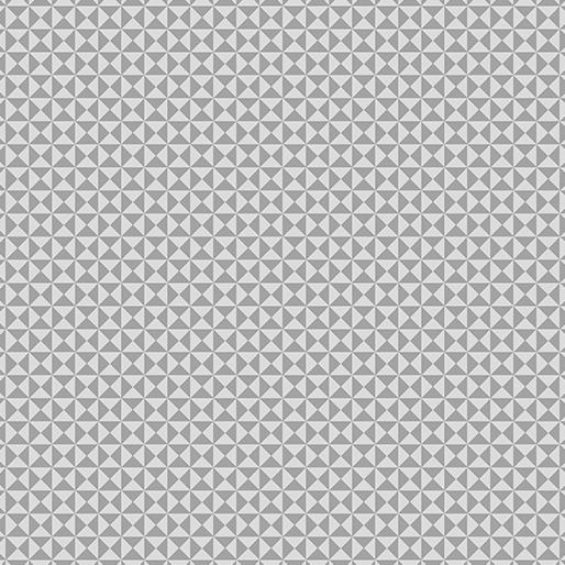 06816 08 Gray Hourglass Gridwork Benartex