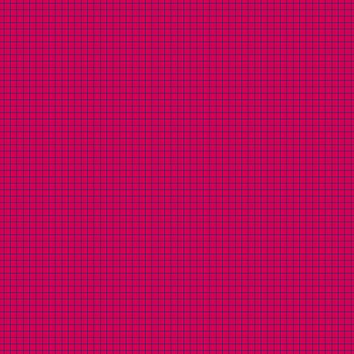 Gridwork Square Grid Fuchsia