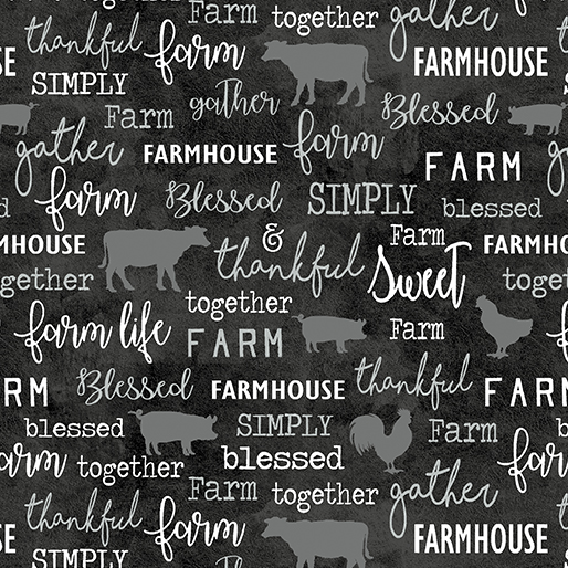 Farm Sweet Farm Chalkboard Charcoal 06843 11