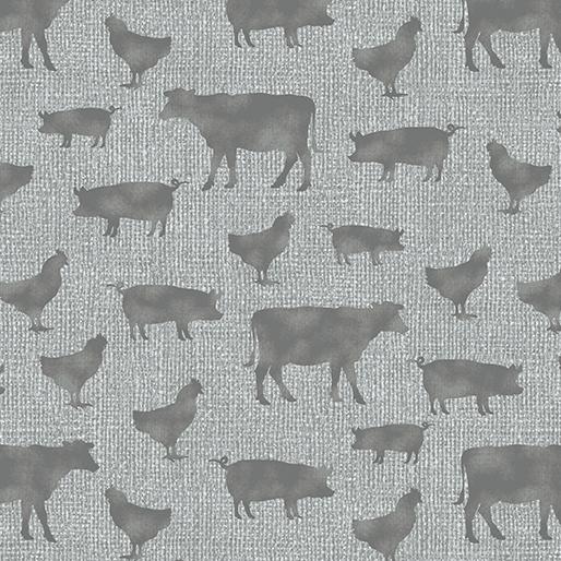 Farm Sweet Farm Farm Animals Grey 06845 08