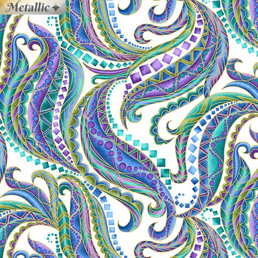 Horsen Around Mane White Swirl