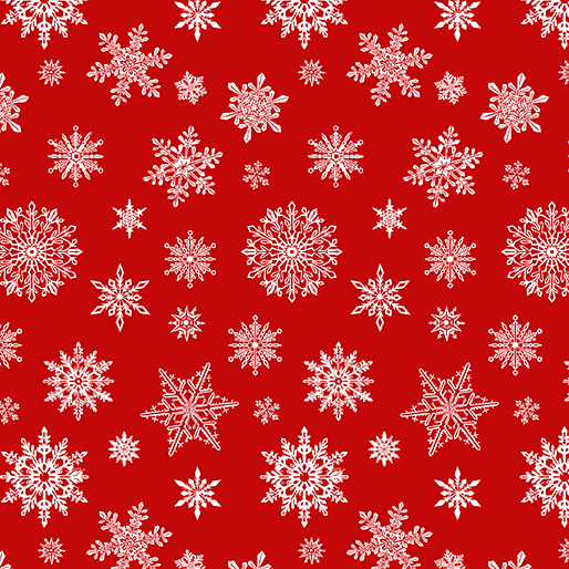 Falling Flakes Red
