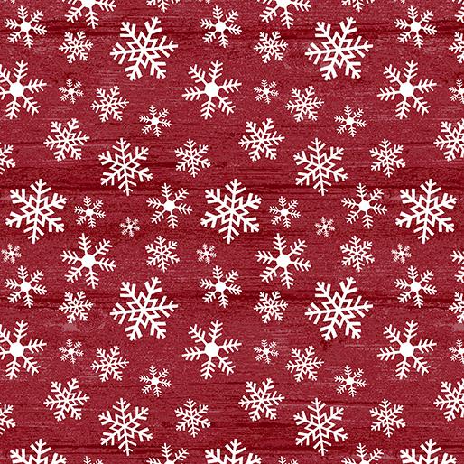 Rustic Snow Village Christmas Wood Flake Grenadine 06884 19