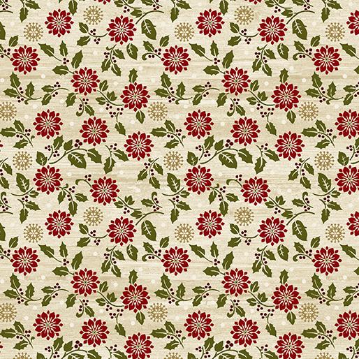 Rustic Poinsettia Beige 6889-76
