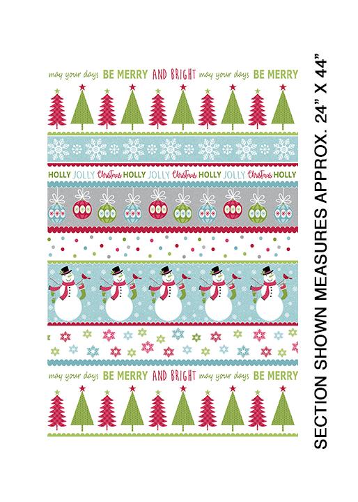 Merry and Bright Stripe - Multi