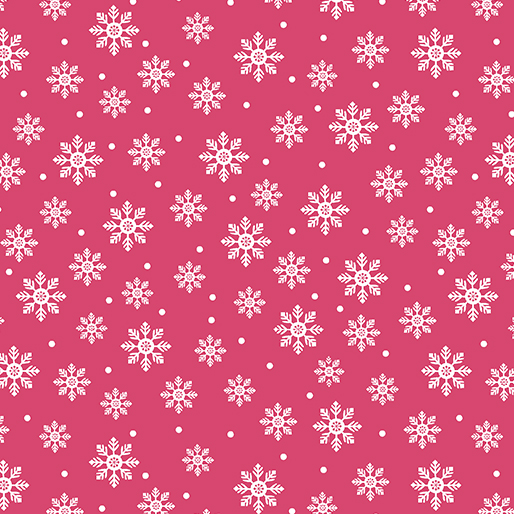 Bright Flakes - Pink