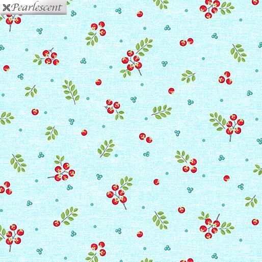 First Frost Berries Aqua