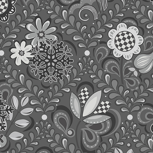 First Frost -- 16943-11 Damask Gray