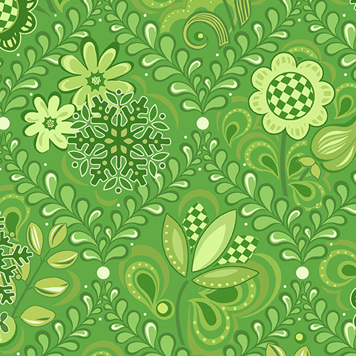 First Frost -- 16943-40 Damask Green