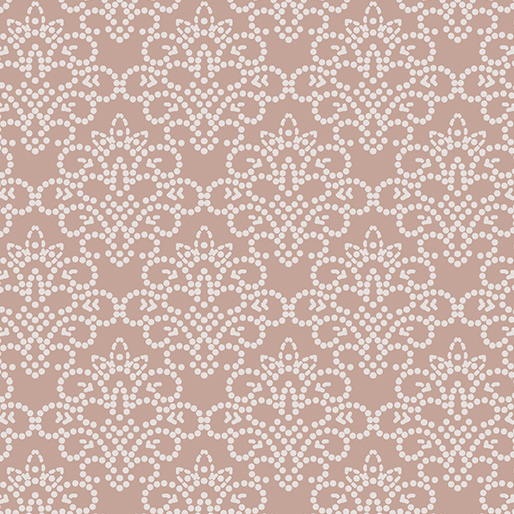 Dotted Damask Pale Rose