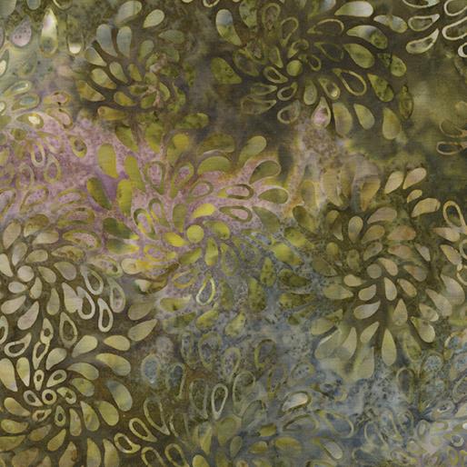 Benartex Rainforest Mist Balis Dreaming Olive