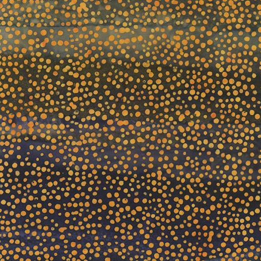 7510 54 Gradation Dot Bali Sunset Valley Batiks for Benartex Fabrics. 100% cotton 43 wide