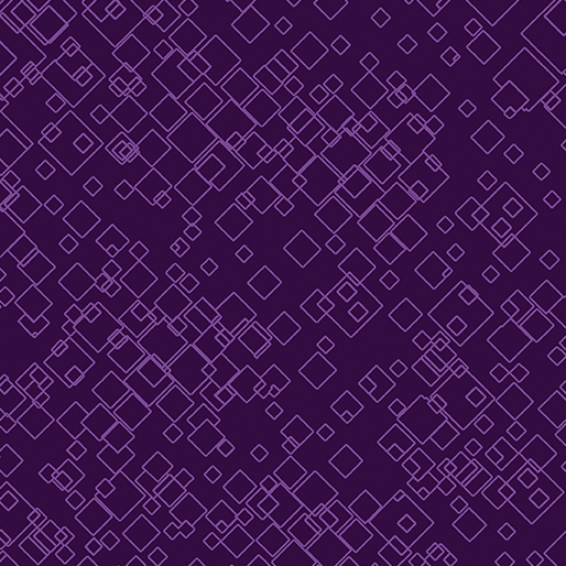 Tonal Squares Purple 7549-66