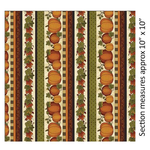 Harvest Pumpkin - Stripe Crm Multi