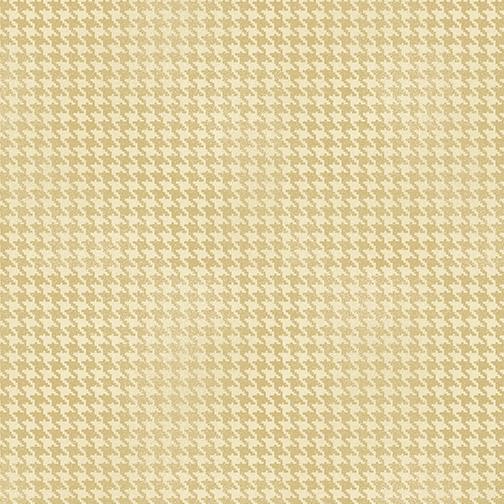 Blushed Houndstooth - Cream