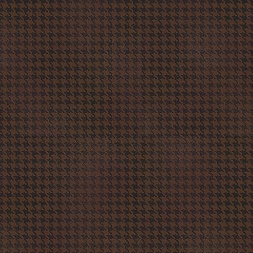 Blushed Houndstooth - Brown