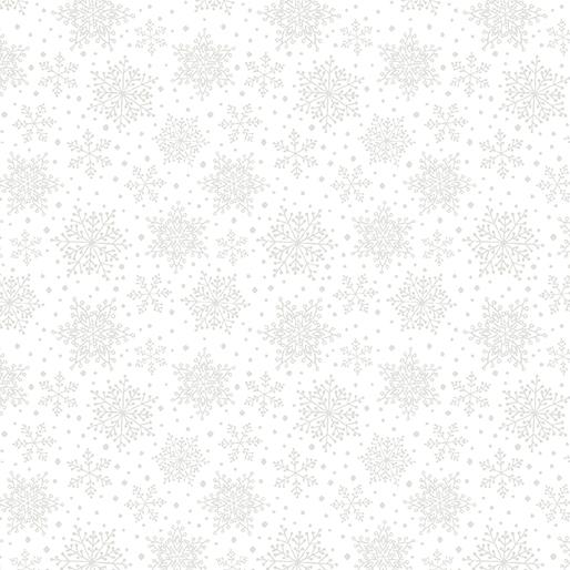 Snowflakes White 7577 9
