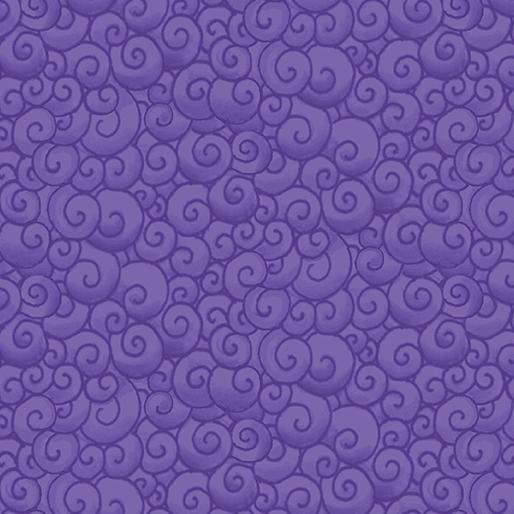 Swirls Purple