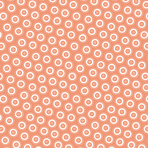My Happy Place Dotty Buttons Orange