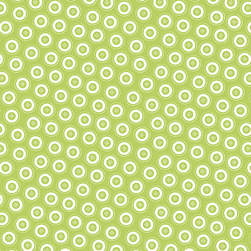 My Happy Place - Dotty Buttons Green