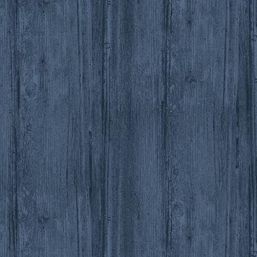 Washed Wood Wide Harbor Blue