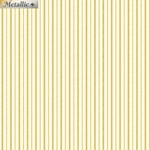 Metallic Mixers Gold - Metallic Stripes Cream/Gold