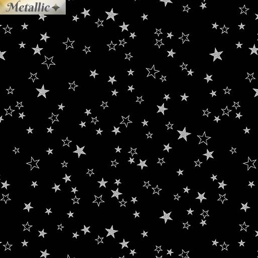 stars black/silver