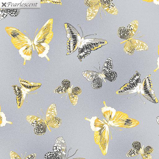 Limoncello Butterflies Gray