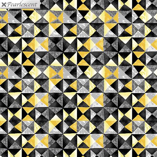 :Limoncello Mosaic YelowCharcoal 7741P - 33